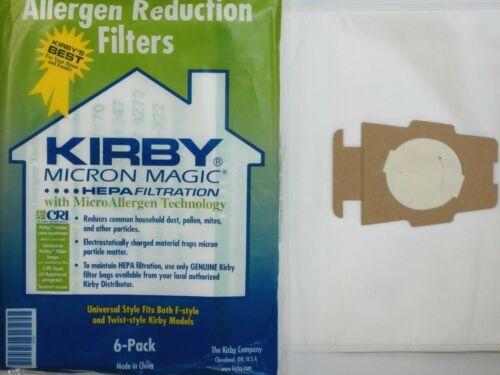 6 Kirby Vacuum Cleaner Micron Magic Bag Models Ultimate G HEPA Diamond 1 Belt