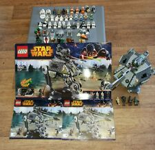 Lego Original Star Wars Mixed Figures Bundle and at-ap 75043