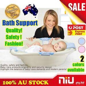 Safety Baby Bath Seat Support Adjustable Kid Bathtub Bathing ...