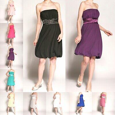 Partykleid Cocktailkleid Ballkleid Schnürung Gr.36 bis 62 elegant lafairy Mode