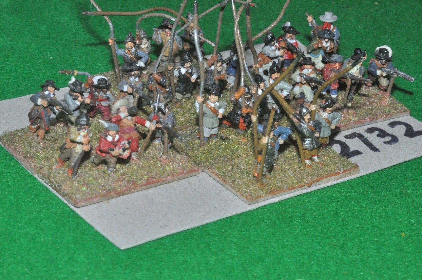 15mm ECW   english - infantry 32 figures - inf (2732)