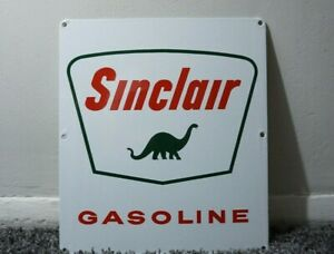 VINTAGE-SINCLAIR-PORCELAIN-SIGN-GAS-MOTOR-OIL-CAN-STATION-PUMP-DINO-GASOLINE-AD