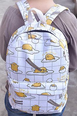 """Gudetama lots egg mix 13"""" backpack shoulder bag laptop bags new WE282"""