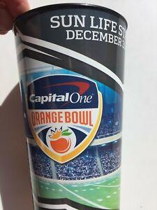 Clemson Oklahoma Orange Bowl Football Dec 2015 Drink Cup 6 ...