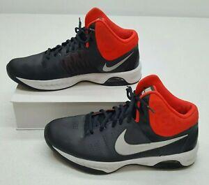 Sucio suéter respuesta  Nike Air Visi Pro 6 Mens 10.5 Basketball Sneakers Black Neon Orange  749167-006 | eBay