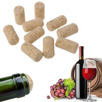 10pcs//lot Straight Bottle Wood Corks Wine Stoppers Bottle Plug
