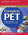 Complete PET Student's Book with Answers with CD-ROM by Emma Heyderman, Peter May (Mixed media product, 2010)