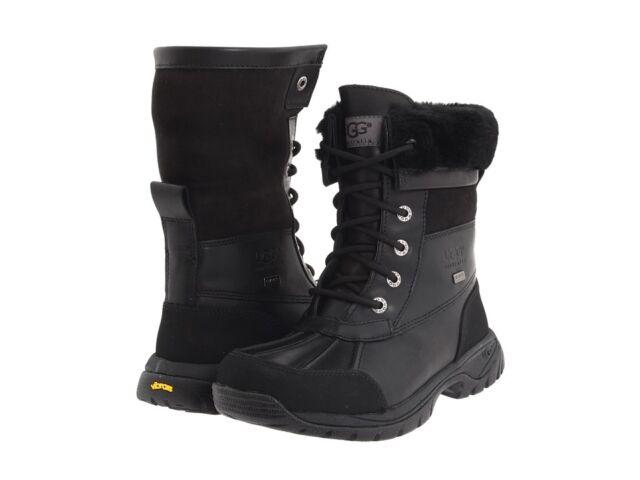 4e80717ebdd NEW KIDS UGG AUSTRALIA BOOT WATERPROOF BUTTE BLACK 5209 ORIGINAL SO CUTE  AWESOME