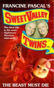 Beast-Must-Die-Sweet-Valley-Twins-Suzanne-Jamie-Very-Good-Book