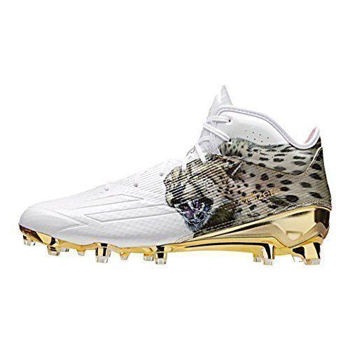 Adidas adizero 5 star 5,0 fece uscire met Uomoftball galloccia 13,5 ghepardo oro bianco sz 13,5 galloccia 836564