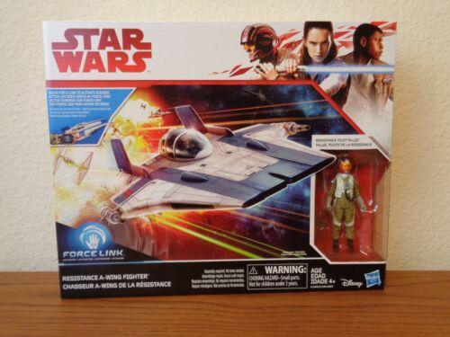 NEW Star Wars The Last Jedi Resistance A-Wing w Pilot Tallie MIB IN HAND