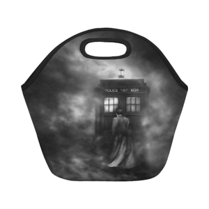 Details About Neoprene Lunch Bag Doctor Who Best Box Tote Bags
