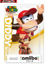 Diddy Kong Amiibo Nintendo Super Mario Wii U & New 3DS Japan