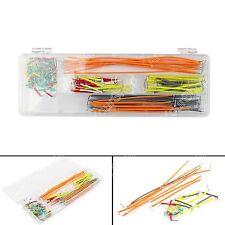Cable Solderless Breadboard Wire Kit 140Pcs Jumper U Shape For Arduino Shield