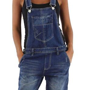 damen jeans hose baggy boyfriend latzhose latzjeans jumpsuit overall h ftjeans ebay. Black Bedroom Furniture Sets. Home Design Ideas