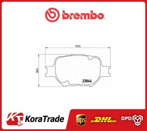 P83054 BREMBO OE QUALLITY DISC BRAKE PADS SET