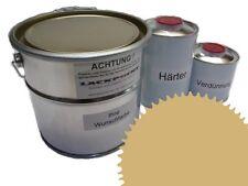 1,5 Set Litre 2K Revêtement de sol RAL 1002 Sable jaune Glanz Peinture Atelier