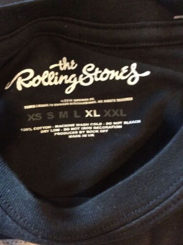 The Rolling Stones Jagger T-Shirt USA Tour 1978 Official Vintage Black Cotton