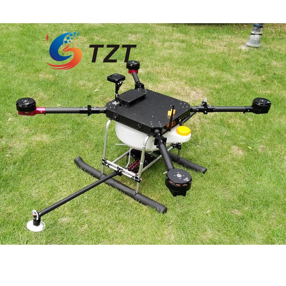 4 Axis 1200mm de Fibra de Carbono FPV Drone quadricóptero agrícola de projoección de plantas Wi