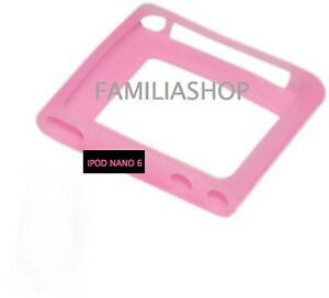 Housse-etui-coque-silicone-rose-iPod-Nano-6-6G