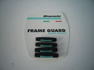 BIANCHI FRAME CABLE PROTECTION GUARDS Celeste//Black