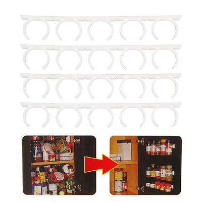Spice Rack Storage/Organizer- Organizes 20 spice jars