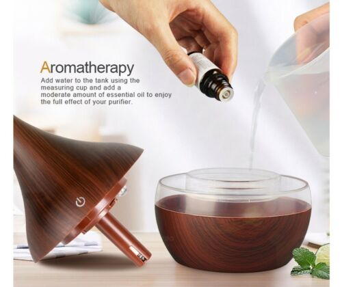 Aroma Diffuser for Aromatherapy USB Rechargeable 300ml Home Office