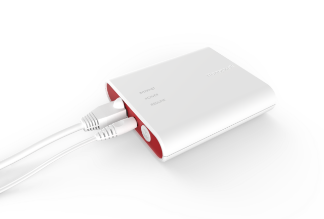 White for sale online Honeywell THM6000R7001 RedLINK Internet Gateway with Ethernet Cable and Power Cord