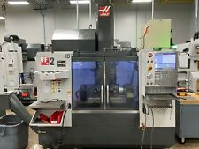 2017 Haas Vf2 Great Condition 30k Rpm 4th Amp 5th Axis