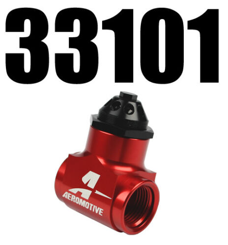 AEROMOTIVE 33101 BILLET VACUUM REGULATOR 33101 Free USA Shipping