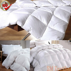 10.5 Tog Quilt All Sizes Available New Hotel Quality Duck Feather /& Down Duvet