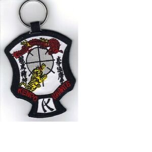 ED-PARKER-AMERICAN-KENPO-KARATE-CREST-KEY-CHAIN-KEY-RING-NEW
