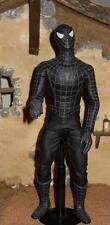 1/6 Kitbashed Custom Medicom RAH Black Spiderman Action Figure