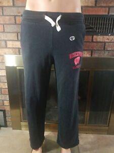 Campeon De Futbol De Wisconsin Tejones Ncaa Pantalones Deportivos Para Hombre Talla Pequena Bucky Madison Ebay