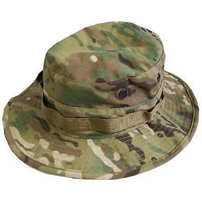 Us Army Ocp Multicam Nycotactical Ha Boonie Cap Berretto 7 1/4 M/medium-mostra Il Titolo Originale Buono Per L'Energia E La Milza