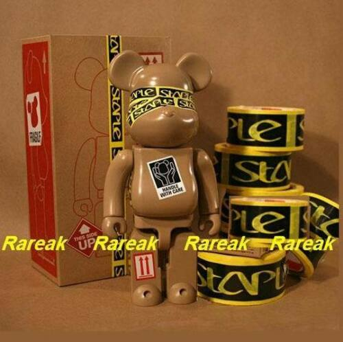 Medicom Be@rbrick Staple 400/% STPL Bearbrick by Jeff Staple design 1pc