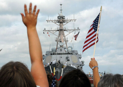 US NAVY DECAL ZAP BUMPER STICKER USN LOGO SEAL EAGLE GIFT USS WAVE SAILOR VET