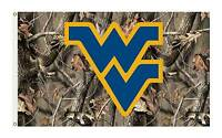 West Virginia Camo 3' X 5' College University Premium Flag W/grommets 1-sided
