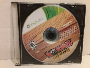 Worms-Collection-Microsoft-Xbox-360-2013-Disc-Only-Tested-amp-Cleaned