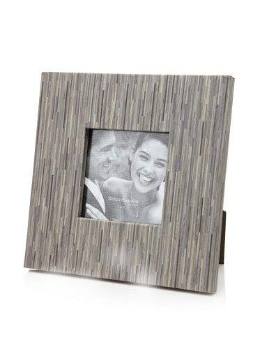 5x5 BOKA Grey faux bamboo wood grain in 5x5 proof size by Reed /& Barton