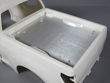 Aluminum Bed Liner Trunk Cover Plate for Tamiya Toy R/C 1/10 Toyota Tundra Truck