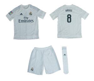 Real Madrid Kinder Trikot Set Minikit Adidas 201516 Tony Kroos 8 Gr