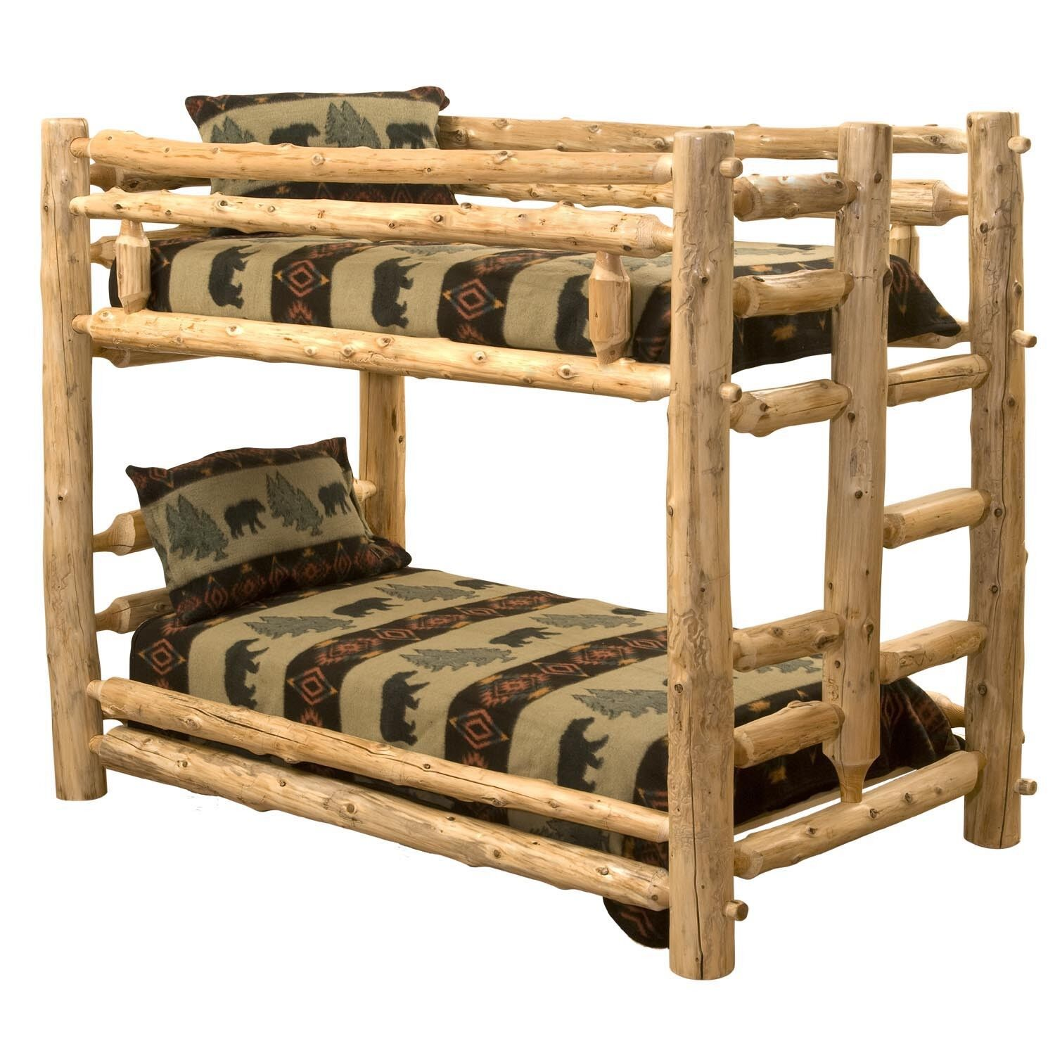 Picture of: Wagon Wheel Style Complete Bed Frame
