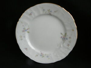 Vintage-Boscov-s-European-Collection-China-Petite-Fleur-Pattern-Bread-Plate