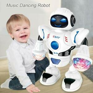 Electric-LED-Light-Music-Dancing-Space-Walking-Robot-Kids-Toy-Christmas-Gift-New