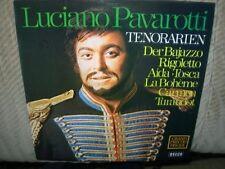 Luciano PAVAROTTI Tono Arias (il Bajazzo, Rigoletto, Aida, Tosca...) LP []