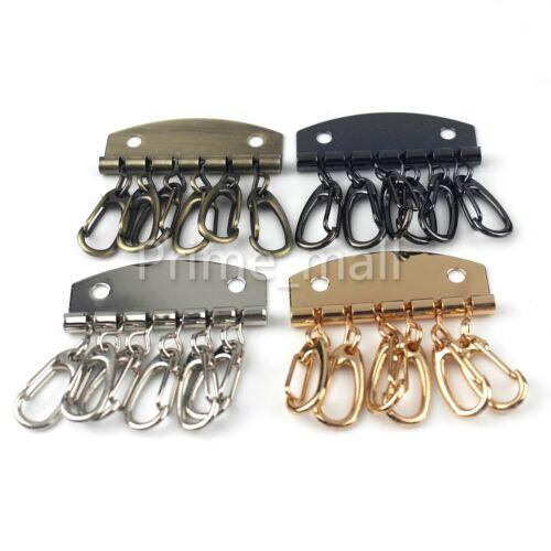 """1-7//8/""""x 1-7//8/"""" Key snap holder hooks Key case purse Leather Craft Hardware parts"""