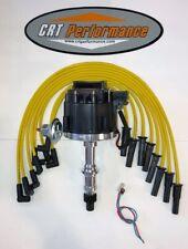 Pontiac 301326350389400421428455 Black Hei Distributor Yellow Wires Usa