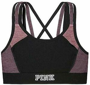 New Victoria/'s Secret The Player Strappy Sport Bra by VS Medium NWT Color Pink