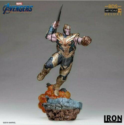 End Game Thanos Deluxe Art Scale 1//10 Statue Iron Studios Marvel Avengers